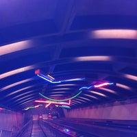 Photo taken at Exchange Place PATH Station by Lori W. on 3/16/2013