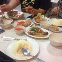 Photo taken at The Chicken Rice Shop by Manje G. on 8/29/2015