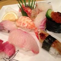 Photo taken at うを清 by Chuji M. on 12/13/2012