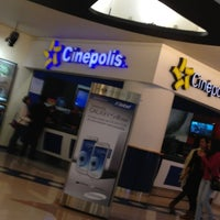 Photo taken at Cinépolis by Andres N. on 2/1/2013