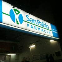 Photo taken at Farmacia San Pablo by Andres N. on 12/24/2012