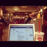 Photo taken at The Grind Coffee House-N-Café by Hartej S. on 12/3/2012