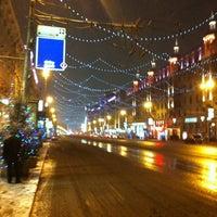 Снимок сделан в Тверская улица пользователем Zhanka A. 12/31/2012