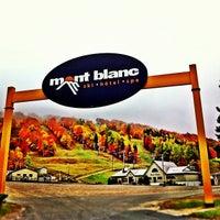 Photo taken at Mont Blanc by Simon d. on 10/4/2012