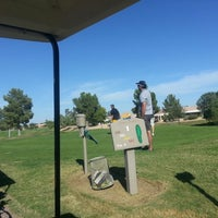 Photo taken at Arizona Traditions Golf Club by Andy G. on 10/20/2012