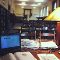 Photo taken at WVU Downtown Campus Library by Stephen D. on 5/17/2013