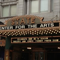Photo taken at State Theatre Center for the Arts by Kathleen M. on 10/7/2012