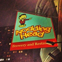 Photo taken at Nodding Head Brewery & Restaurant by Juan Pedro D. on 5/9/2013
