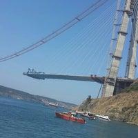 Photo taken at 3rd Bosphorus Bridge South Tower by senem a. on 8/16/2015