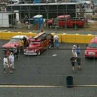 Photo taken at Charlotte Motor Speedway by cynthia t. on 9/21/2013