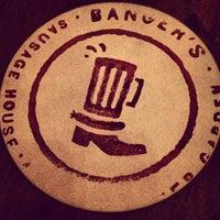 Photo taken at Banger's Sausage House & Beer Garden by Josh O. on 3/31/2013