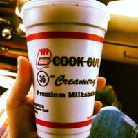 Photo taken at Cook Out by Angelina B. on 4/1/2013