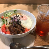 Photo taken at MOS Cafe by Mitsutaka T. on 11/19/2017