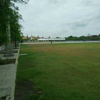 Photo taken at Sanam Luang by Champ T. on 6/2/2016