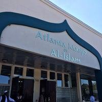 Photo taken at Atlanta Masjid Of Al-Islam by Aziz A. on 10/24/2014