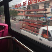 Photo taken at Metrobus Rio Mayo by Panterita A. on 11/14/2015