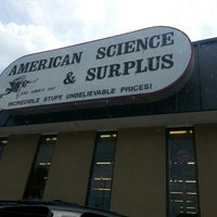 Photo taken at American Science and Surplus by Leah T. on 7/6/2013