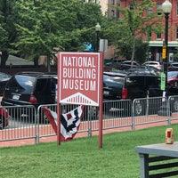 Photo taken at The Lawn of the National Building Museum by Neville E. on 8/13/2017