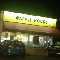 Photo taken at Waffle House by Neville E. on 4/21/2013