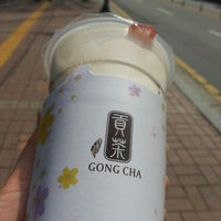 Photo taken at GONG CHA by Younghye J. on 4/15/2015