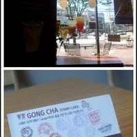 Photo taken at GONG CHA by Younghye J. on 9/4/2014