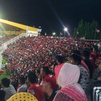 Photo taken at Stadium Sultan Muhammad IV by Ahmad E. on 12/12/2012