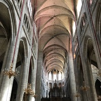 Photo taken at Cathédrale Sainte Marie by Guillaume T. on 8/11/2017
