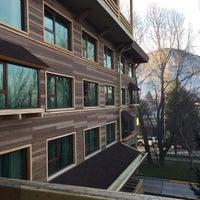 Photo taken at Hotel Dreams de La Patagonia by Mine Y. on 8/13/2016