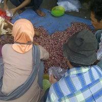 Photo taken at Pasar Induk Kramat Jati by teuku U. on 6/16/2015