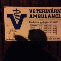 Photo taken at veterinarna ambulancia Pezinok by Lukas P. on 2/20/2016