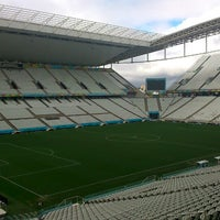 Foto tirada no(a) Arena Corinthians por Alexandre B. em 7/11/2014