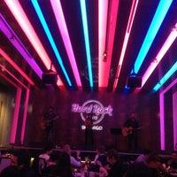 Photo taken at Hard Rock Cafe Santiago by Bruno P. on 7/26/2013