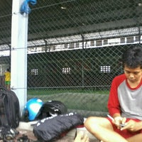 Photo taken at Udayana Futsal Centre (UFC) by Hamdan N. on 11/25/2012