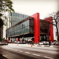 Photo taken at São Paulo Museum of Art by Thiago . on 5/30/2013