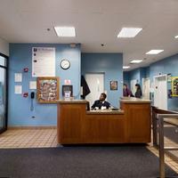 Photo taken at NYU Paulette Goddard Residence Hall by NYU on 12/4/2012