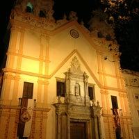 Photo taken at Parroquia de Ntra. Sra. del Carmen y Santa Teresa by Jenechka G. on 1/23/2013