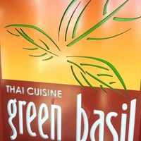 Photo taken at Green Basil Thai Restaurant by Kenneth P. on 5/26/2013