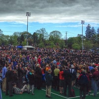 Photo taken at Memorial Field by UNH Students on 5/17/2014