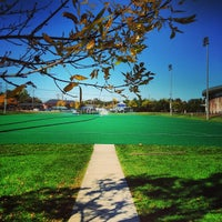 Photo taken at Memorial Field by UNH Students on 10/8/2013