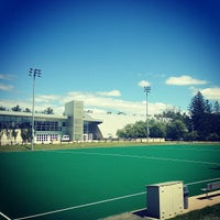 Photo taken at Memorial Field by UNH Students on 8/14/2013