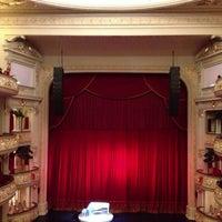 Photo taken at Teatro Municipal de Lima by Miguel M. on 6/1/2013