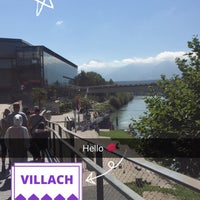 Photo taken at Villach by هَديل✨ .. on 8/25/2016