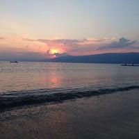 Photo taken at Denetko Plajı by İdil İ. on 8/8/2014