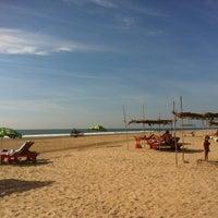 Photo taken at Morjim Beach by No N. on 12/7/2012
