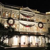 Photo taken at Raffles Hotel by Denis P. on 12/27/2012