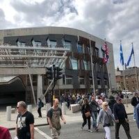Photo taken at Scottish Parliament by Jonathan P. on 6/8/2018