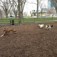 Photo taken at Coronation Dog Park by Amanda B. on 4/30/2013