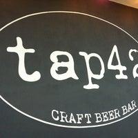 Photo taken at Tap 42 Bar & Kitchen by David W. on 4/4/2013