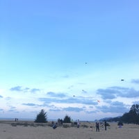 Photo taken at Pantai Teluk Lipat by Nana A. on 1/14/2017