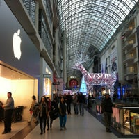 Photo taken at CF Toronto Eaton Centre by Dmitriy R. on 12/2/2012